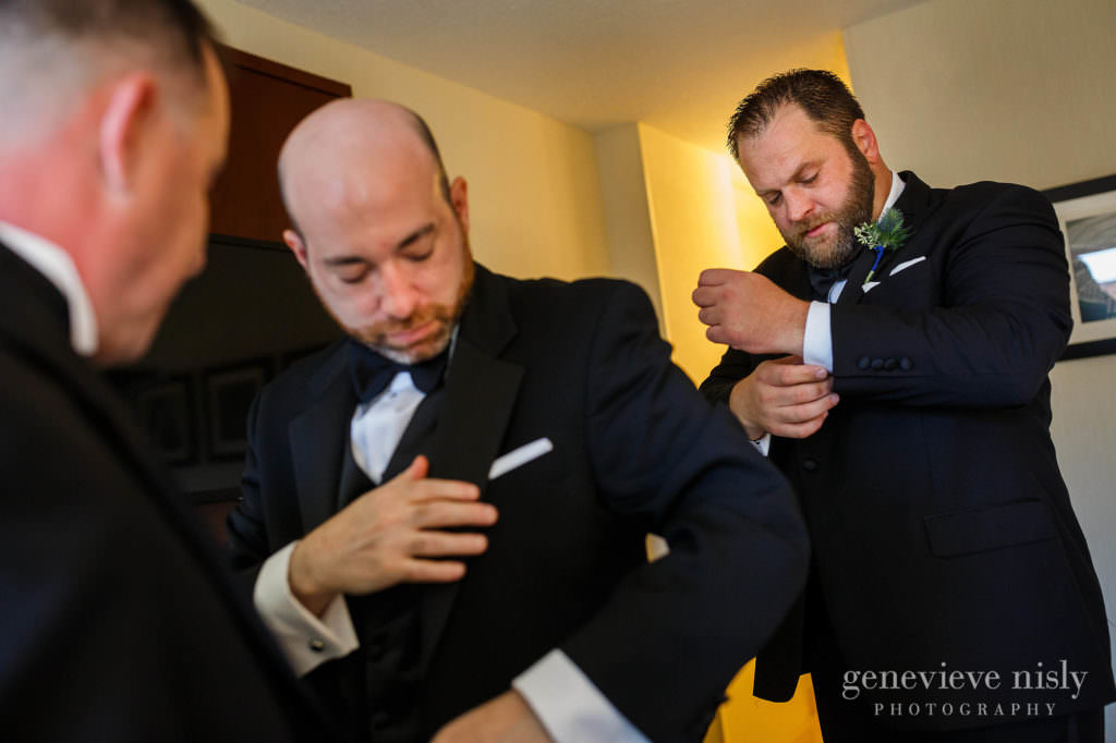 Cleveland, Copyright Genevieve Nisly Photography, Marriott Key Center, Ohio, Summer, Wedding