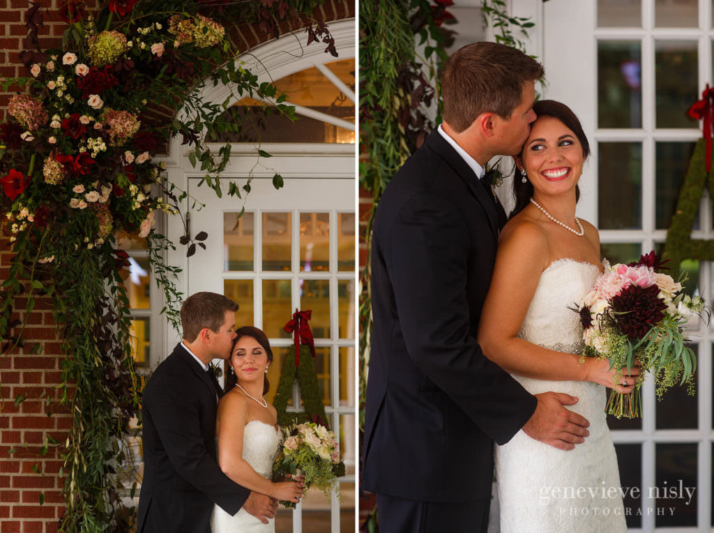 Canton, Copyright Genevieve Nisly Photography, Fall, Wedding, Ohio, Brookside Country Club