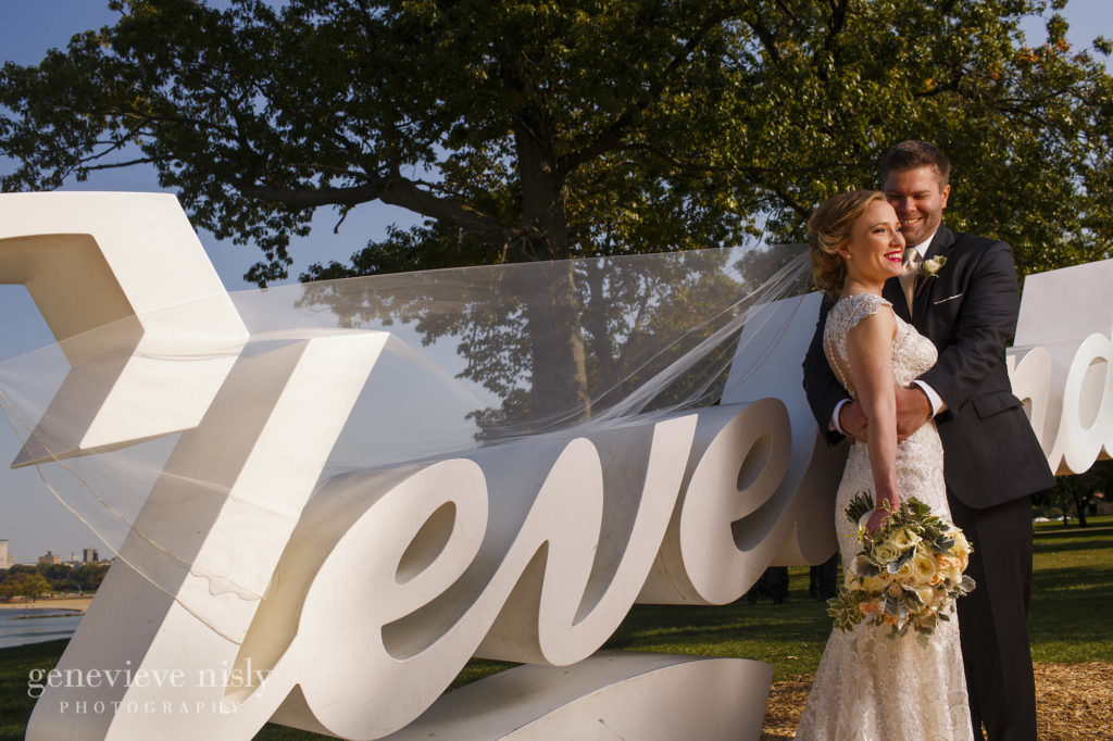 Wedding, Copyright Genevieve Nisly Photography, Fall, Ohio, Cleveland, Edgewater Park