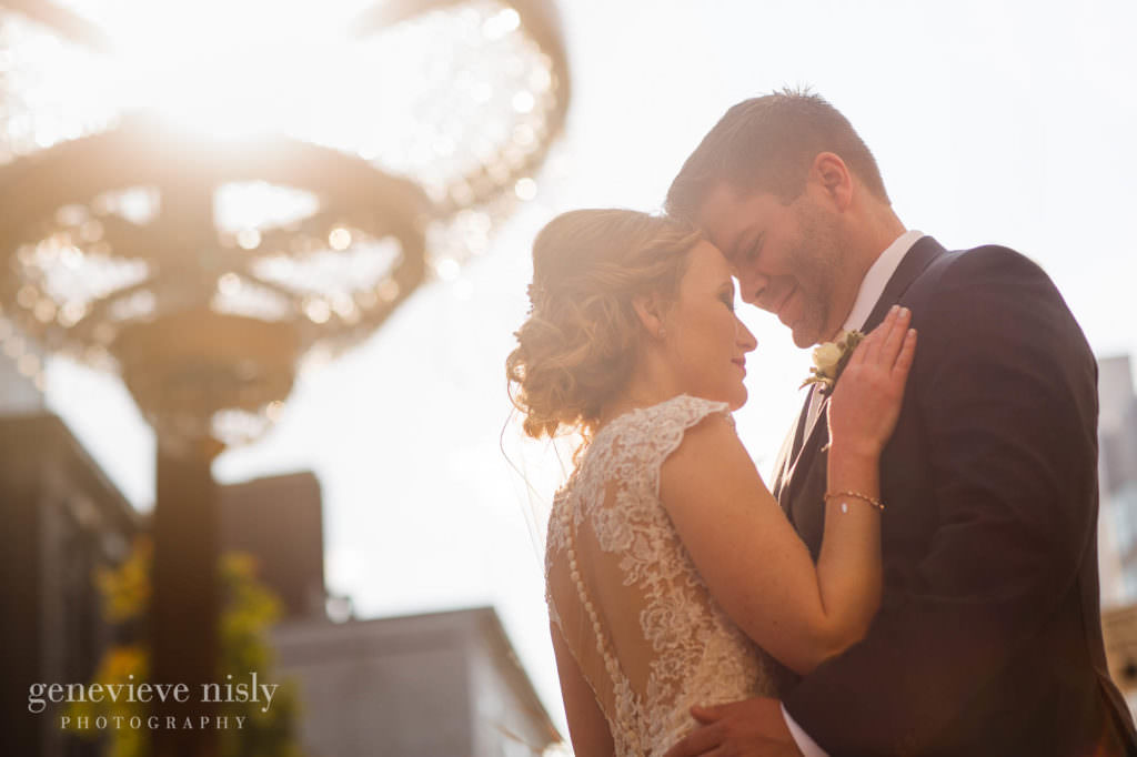 Wedding, Copyright Genevieve Nisly Photography, Fall, Ohio, Cleveland, Playhouse Square