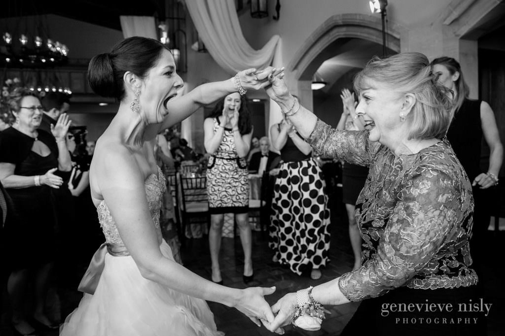 Bride dances with her mother during the reception.