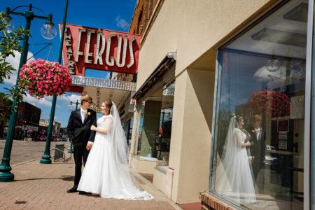 downtown fergus falls wedding