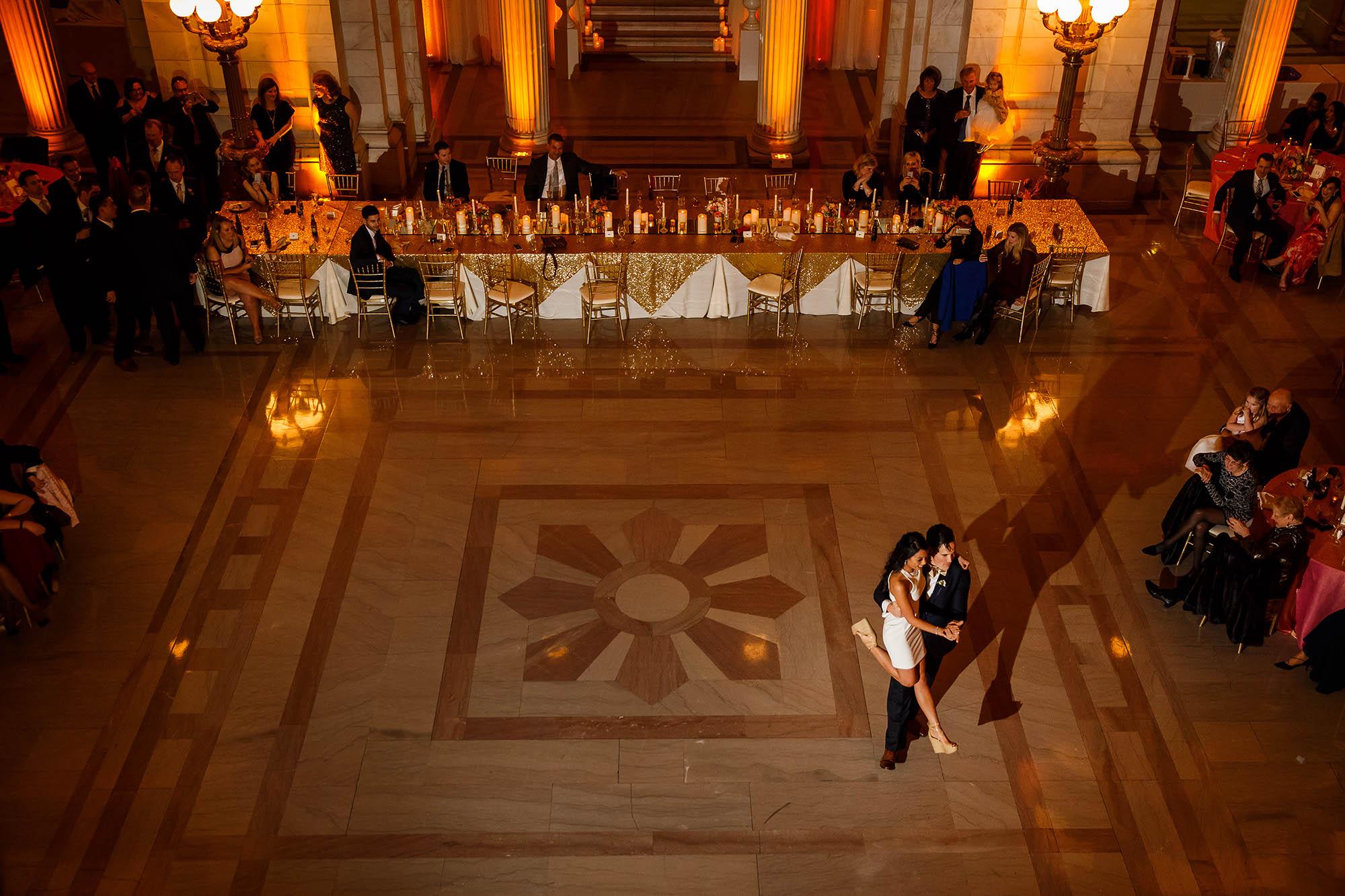 Reception, Wedding, Cleveland, Old Courthouse