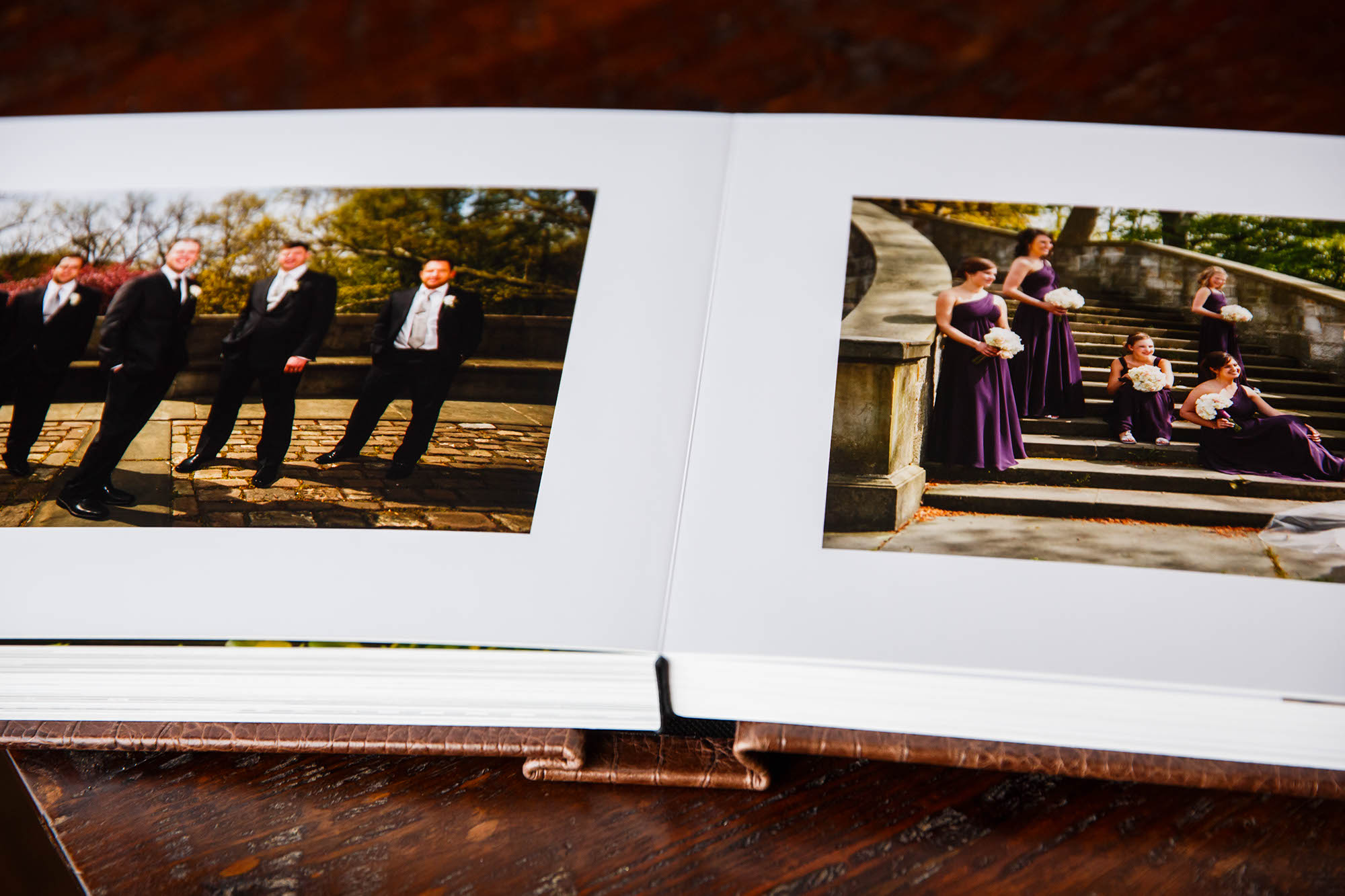 Copyright Genevieve Nisly Photography, Wedding Albums, Roma