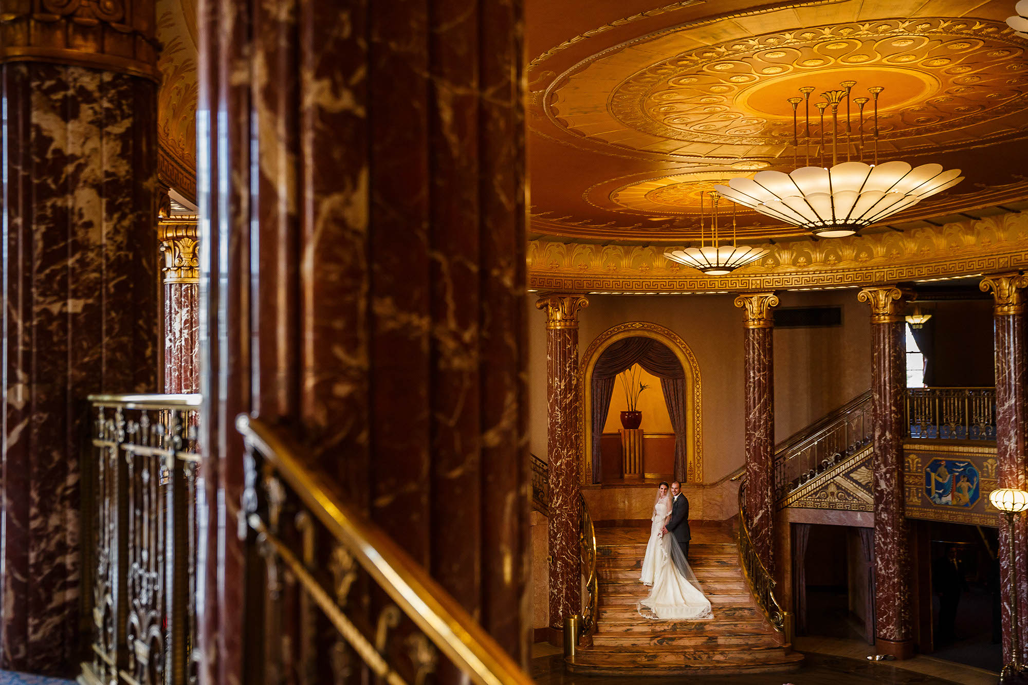Wedding, Ohio, Cleveland, Severance Hall