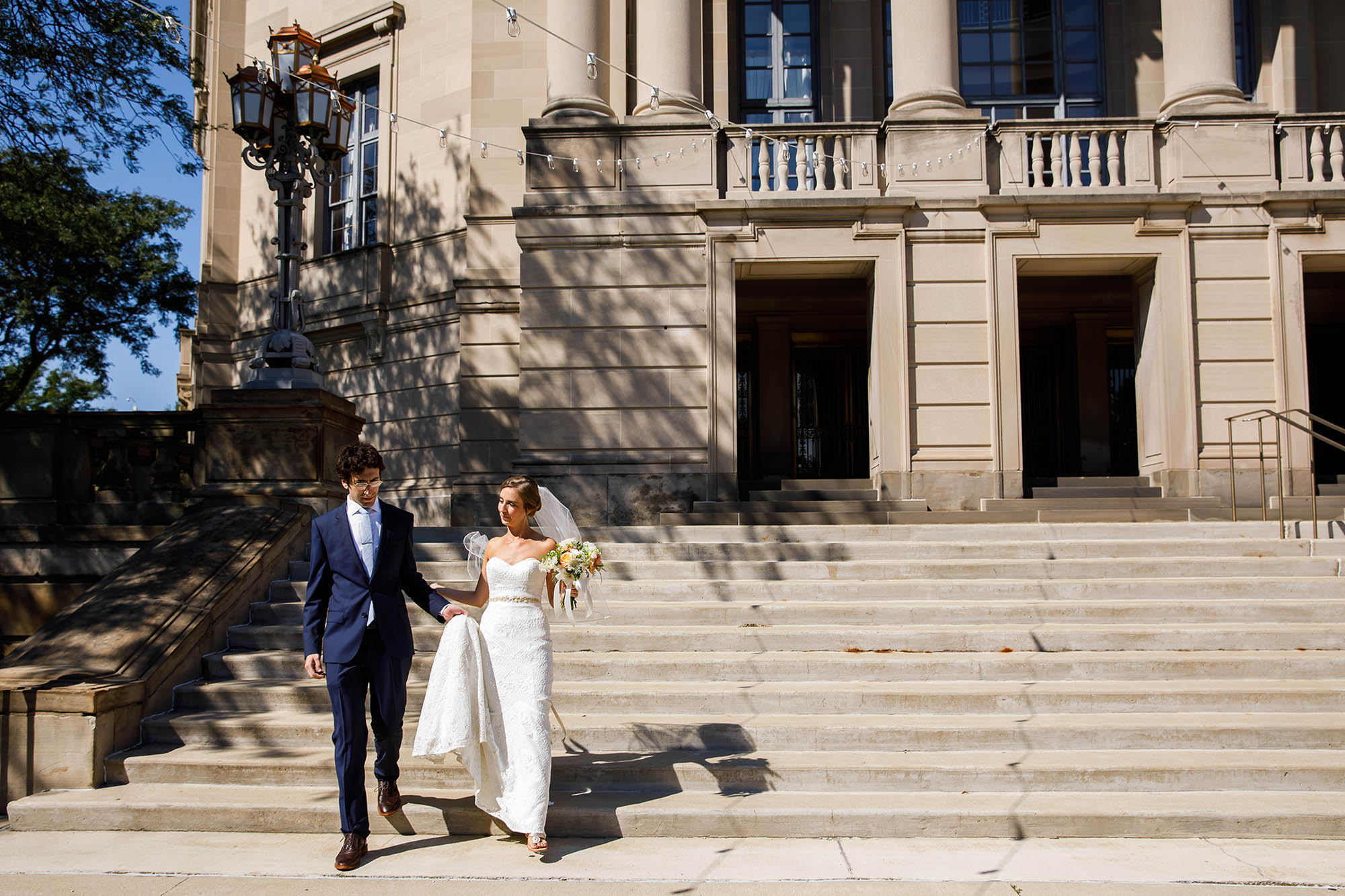 Wedding, Cleveland, Severance Hall
