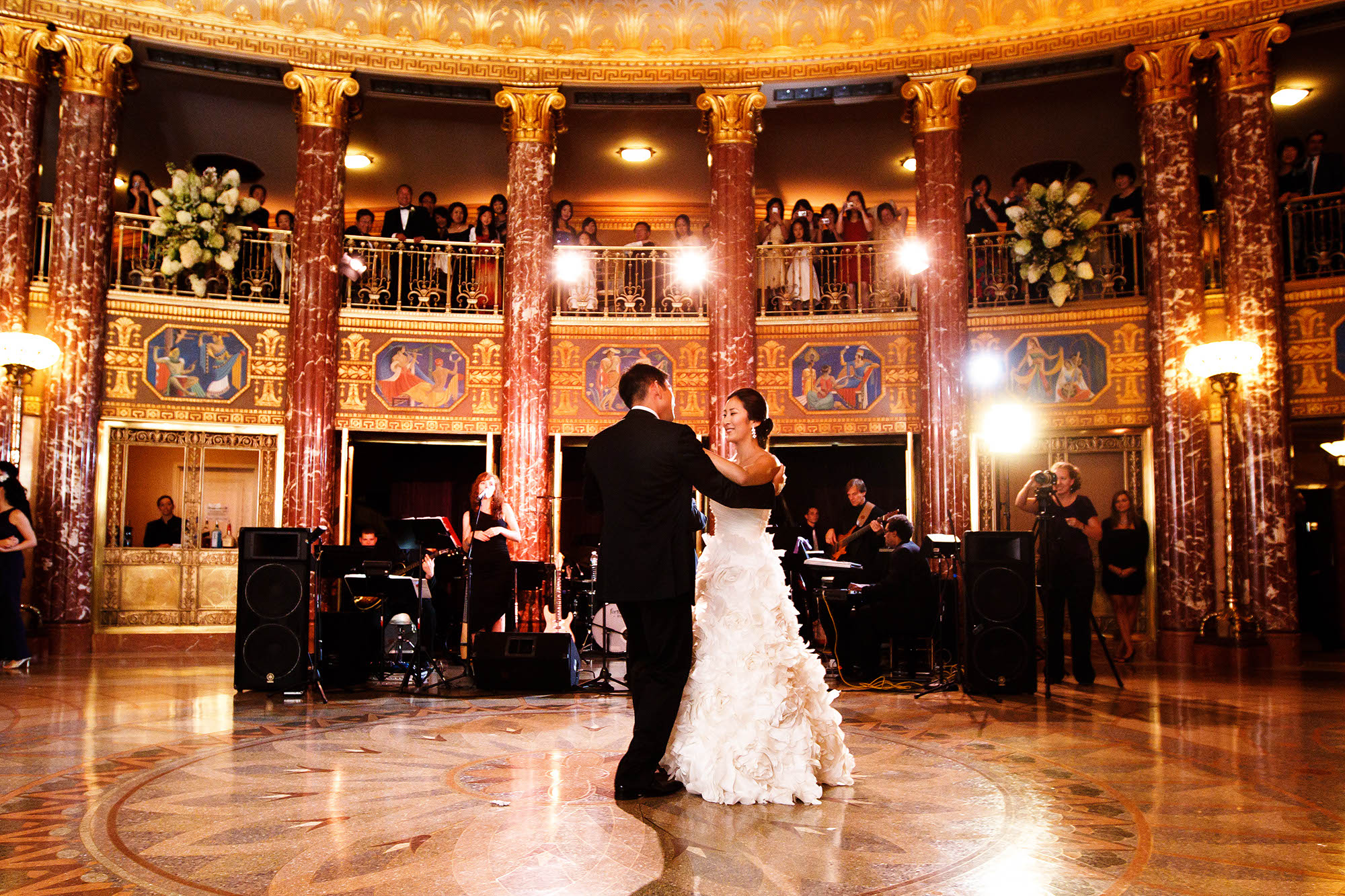 Wedding, Reception, Severance Hall