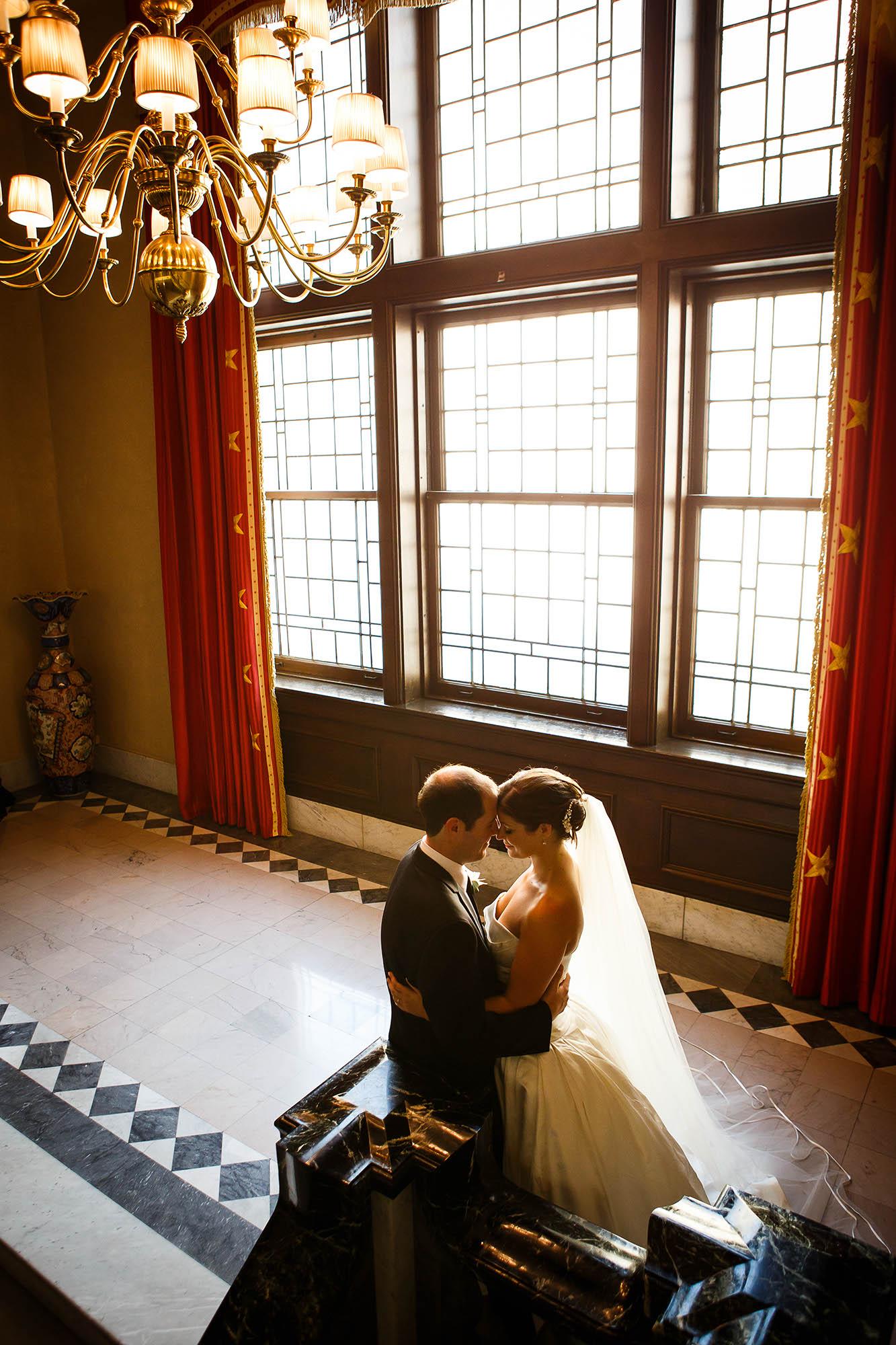 ceremony, cleveland, ohio, union club, Wedding