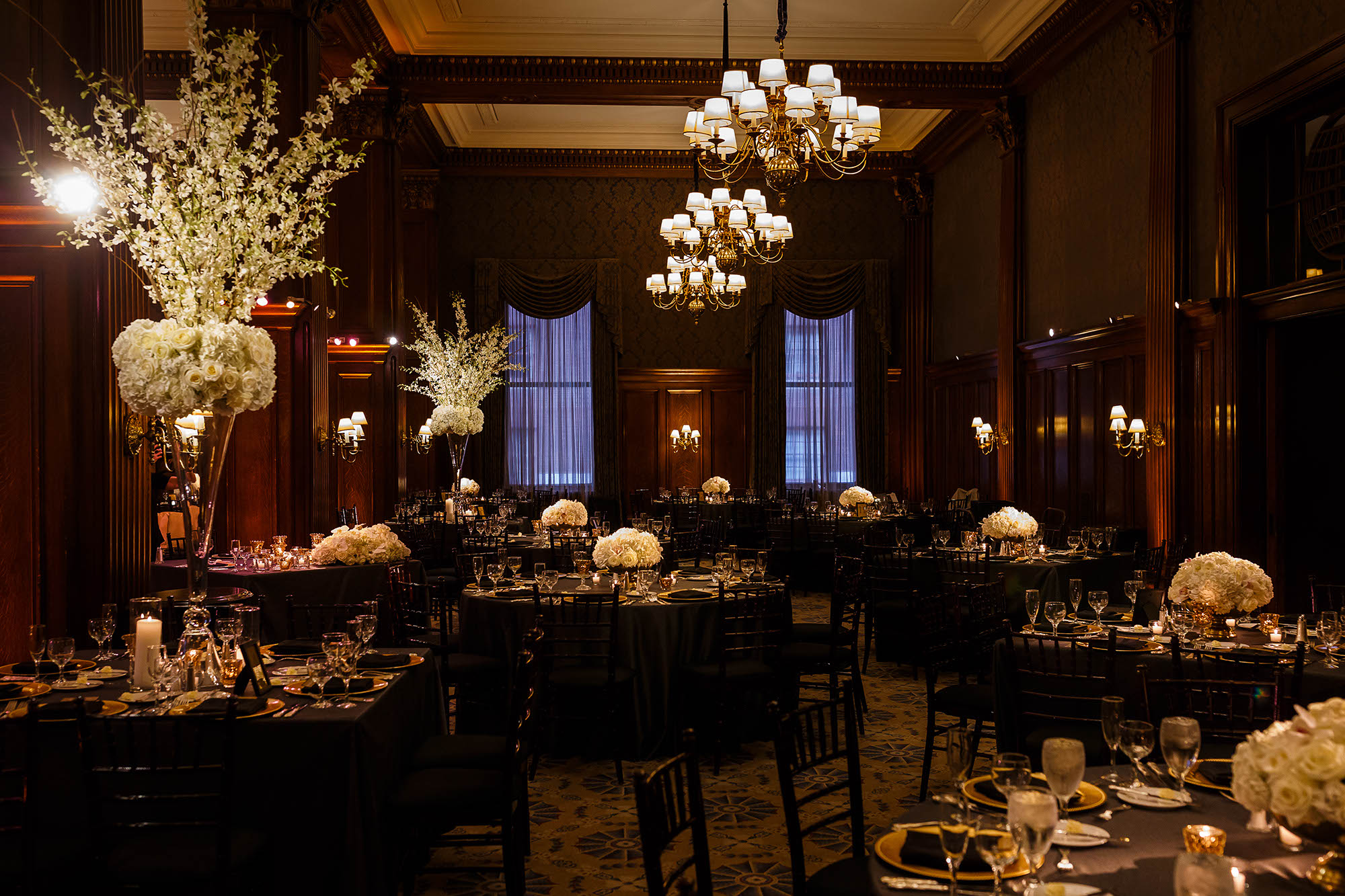 Reception, Wedding, Cleveland, Union Club