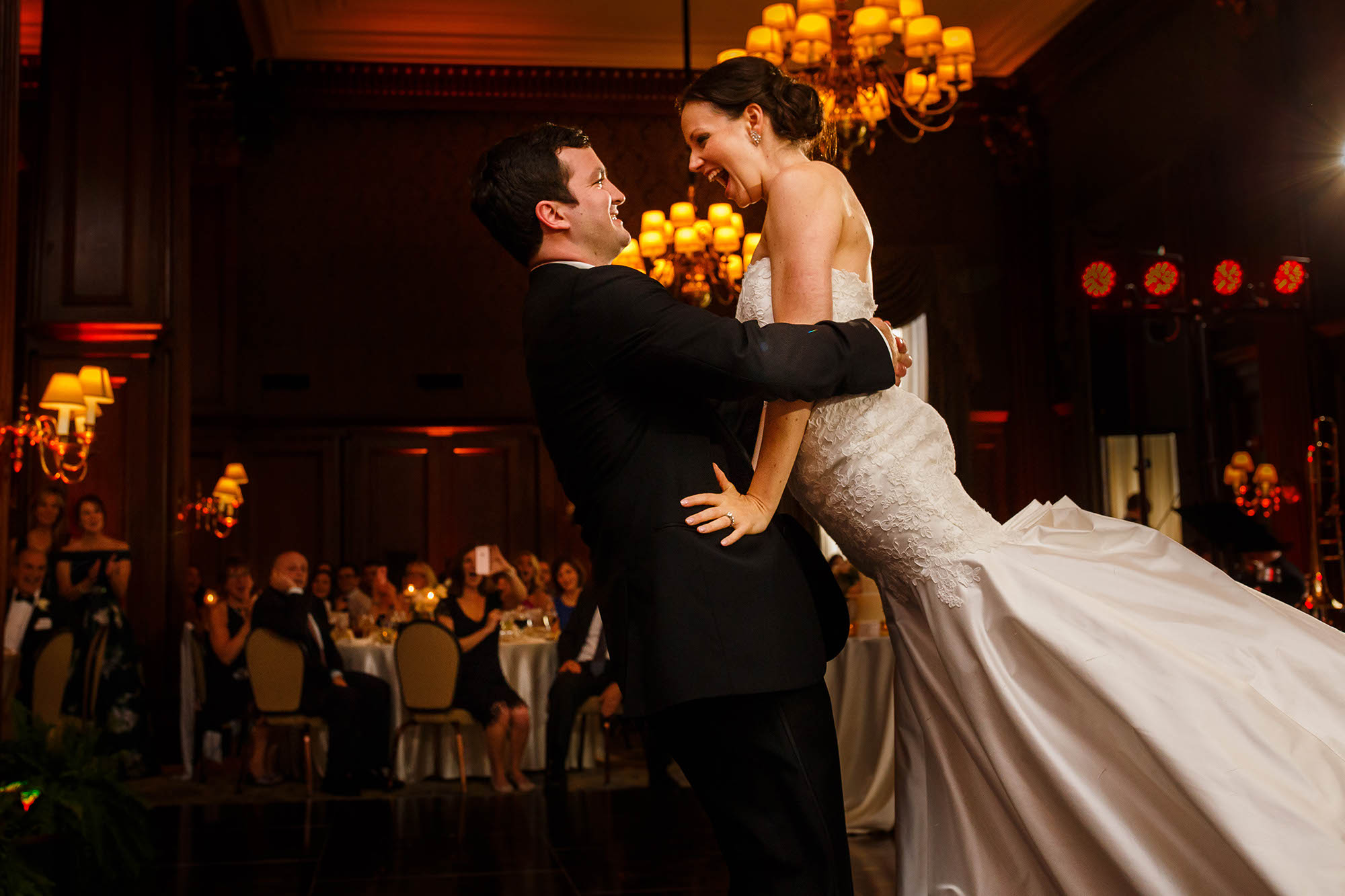 Cleveland, Wedding, Reception, Union Club